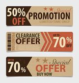 stock photo of coupon  - Price tag - JPG
