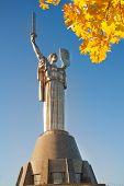 ������, ������: Kiev Mother Motherland monument in Ukraine
