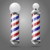 picture of barber  - Realistic vector  - JPG