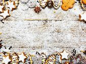 stock photo of christmas spices  - Christmas baking and christmas spices - JPG