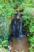 picture of naturel  - Small waterfall in the pyrenees in Boussenac in France - JPG