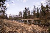 picture of manor  - The Demidovs Manor in Taitsy Leningrad region Russia - JPG