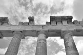 pic of parthenon  - A view of the ruins of the Parthenon in Athena - JPG