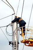 image of electrician  - worker - JPG