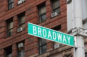 pic of broadway  - New York City United States  - JPG