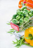 image of brussels sprouts  - Fresh vegetables - JPG