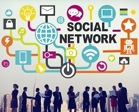 picture of socialism  - Social Network Internet Online Society Connecting Social Media Concept - JPG