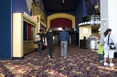 picture of movie theater  - Movie theater entrance Movie theater in downtown San Francisco California - JPG
