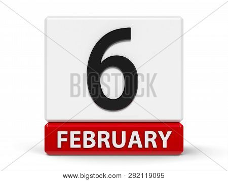 Red And White Calendar Icon