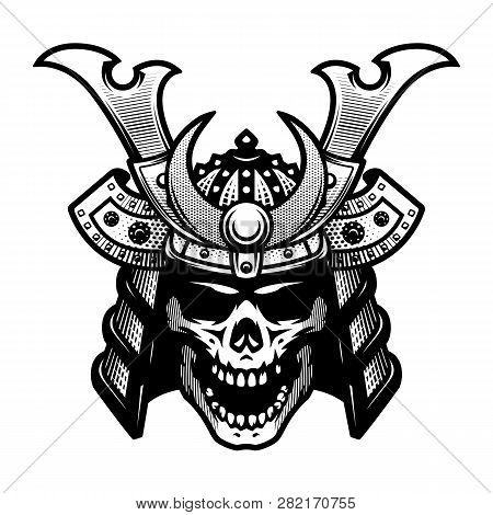 Samurai Skull Warrior Helmet In