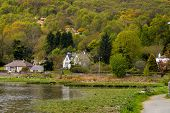 pic of gare  - Looking over the waters of Gare Loch in Scotland - JPG