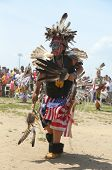 Unidentified young Native American dancer at the NYC Pow Wow in Brooklyn