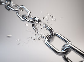 picture of shackles  - Chain breaking - JPG