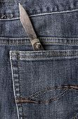 Old Knife Back Pocket Jeans