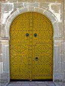 picture of front door  - The golden door Sidi Bou Said Tunisia - JPG