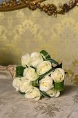 picture of white roses  - Bride - JPG