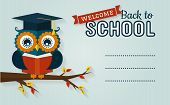 image of owls  - Back to school - JPG