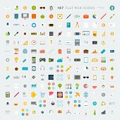 pic of communication  - Collection of Flat Design Web Icons - JPG