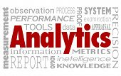picture of performance evaluation  - Analytics and related words in a collage background including performance - JPG