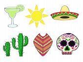 foto of nopal  - a set of traditional symbols of Mexico - JPG