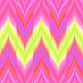 pic of gobelin  - Colorful zigzag print for textile wallpaper card - JPG