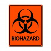picture of hemorrhage  - Biohazard Vector Sign - JPG