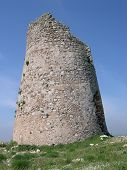 pic of saracen  - apulia salento watchtower lecce south italy ruins saracens incursions - JPG