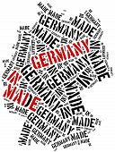 stock photo of manufacturing  - Made in Germany - JPG