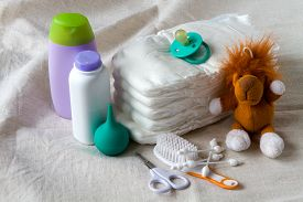 pic of nipples  - items for newborn diapers ear sticks toy squirt cream and powder nipple pacifier  - JPG