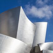Постер, плакат: LOS ANGELES JULY 26: Walt Disney Concert Hall in Los Angeles CA on July 26 2015 The concert hal