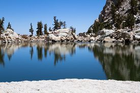 image of mt whitney  - The Lone Pine Lake at Mt - JPG