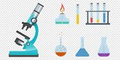 Science And Scientist, Science Laboratory, Lab Chemistry, Research Scientific, Microscope And Experi poster