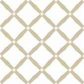 Golden Grid Pattern. Vector Abstract Geometric Seamless Texture With Square Mesh, Net, Lattice, Diag poster