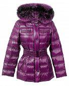 stock photo of jupe  - fur jacket - JPG