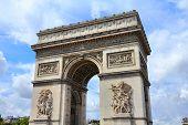 Paris Triumphal Arch poster