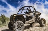Atv Adventure. Buggy Extreme Ride On Dirt Track. Utv poster