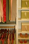 Neatly Organized Womens Closet