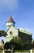 stock photo of batangas  - Fantasy World Castle located in Batangas Philippines - JPG