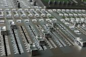 The digital audio mixing console