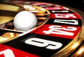 foto of striking  - high resolution 3D rendering of a roulette - JPG
