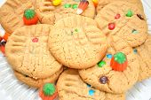 Fall Festive Colorful Cookies