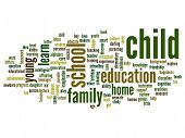 Child word cloud