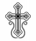 picture of apostolic  - Traditional Armenian Apostolic Church cross clip art - JPG