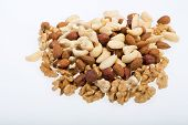 image of pine nut  - mixed nuts  - JPG