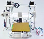 stock photo of hookup  - Assembling the Open Source 3D Printer Device - JPG