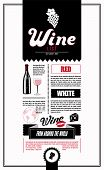 picture of silkscreening  - Wine List - JPG