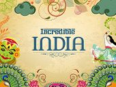 stock photo of incredible  - Incredible India - JPG