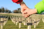 pic of world war one  - children walk hand in hand for peace world war 1 - JPG