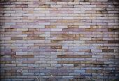 picture of brick block  - stone brick wall, grunge wall, brick block texture ** Note: Soft Focus at 100%, best at smaller sizes - JPG