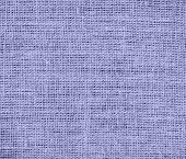 stock photo of blue-bell  - Blue Bell color burlap texture background for design - JPG